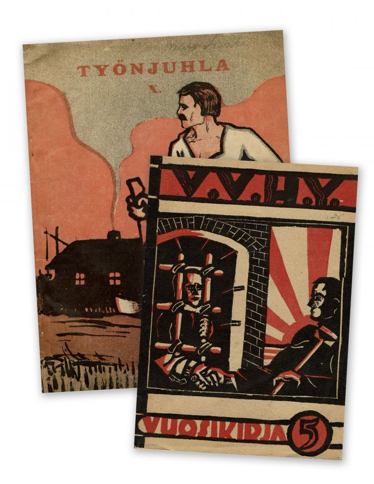 A set of two Finnish magazines, 1921-1929