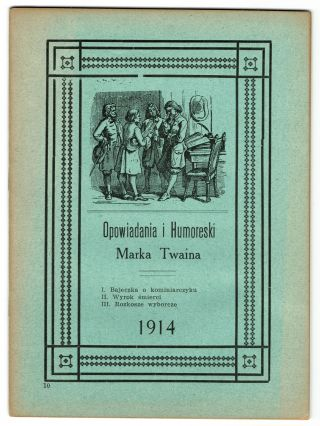 Opowiadania i humoreski [Humorous stories and sketches
