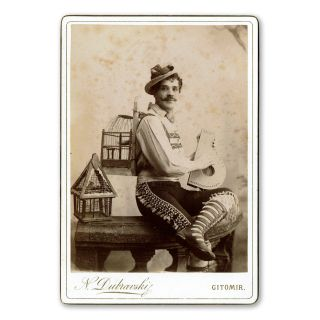 Collection of Twenty-Five Autographed Photographs. Russian Opera Singers and Theatre Actors