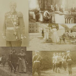 Collection of Twenty-Four Photographs. House of Romanov. Alexander Alexandrovich Nasvetevich, C...