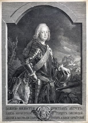 Portrait Of Christian August, Prince Of Anhalt-Zerbst (1690-1747