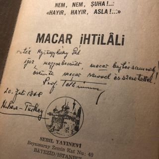 Macar ihtilali [The Hungarian Revolution]